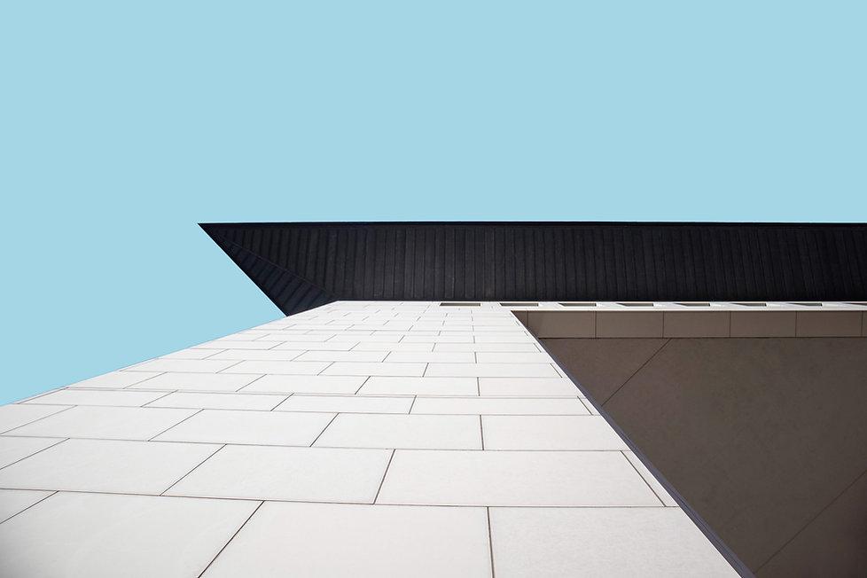 Building facade. The Habitat Company, full service real estate business head quartered in River North, Chicago, IL