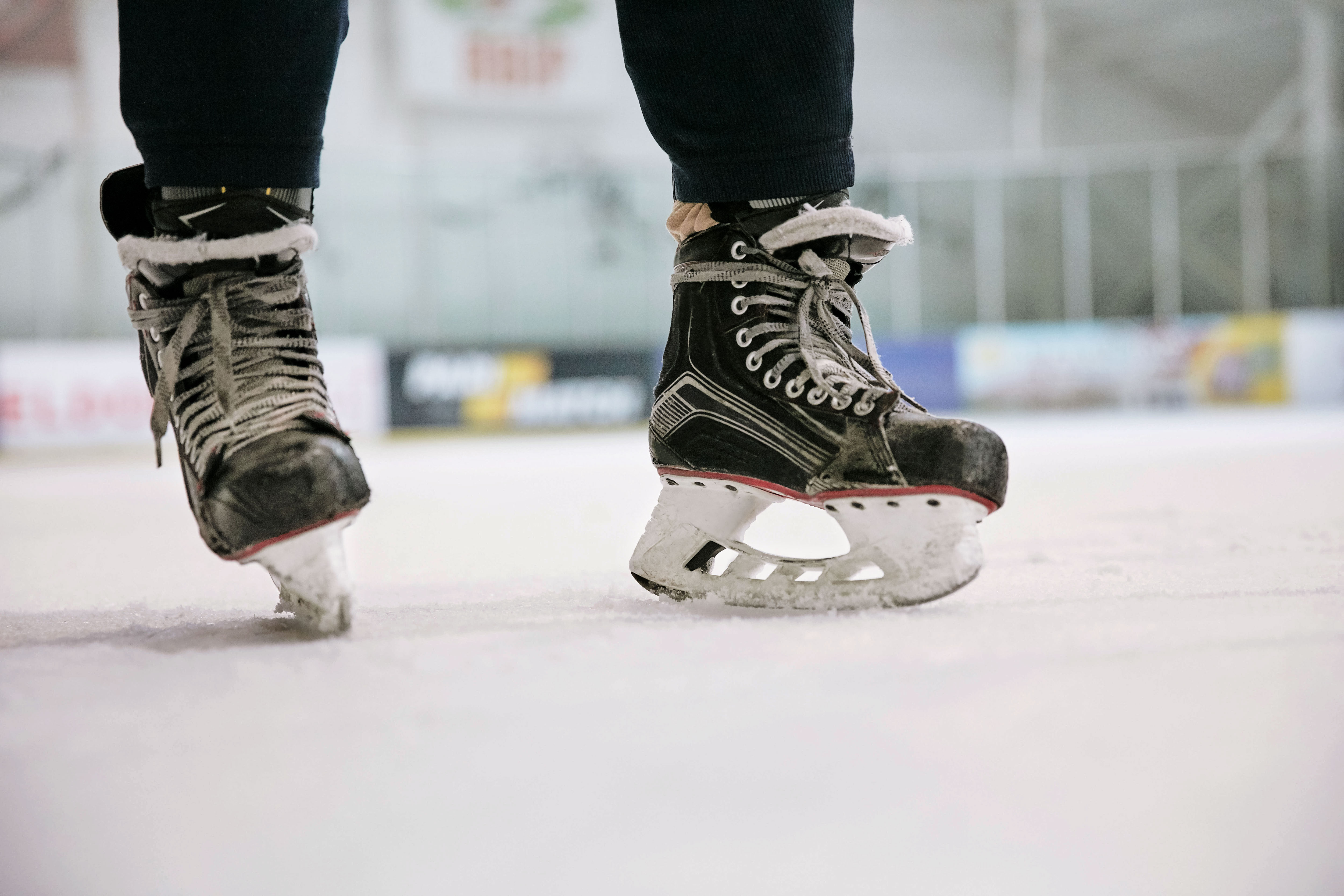 Ice skating rink is open!