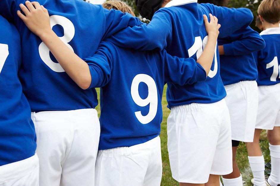 Fußball-Teamkollegen