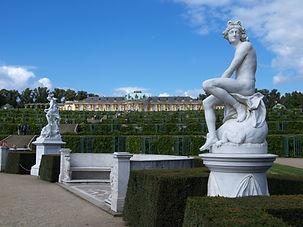 Potsdam Park Sanssouci Marmorstatuen