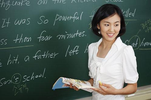 Actualización Metodológica, profesores del área de inglés