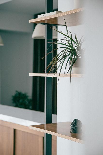 Diseño interior mínimo