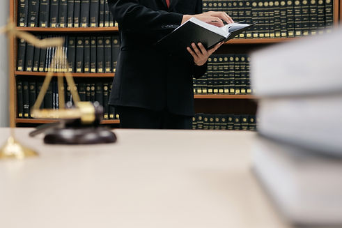 Attorney Reviewing The Laws