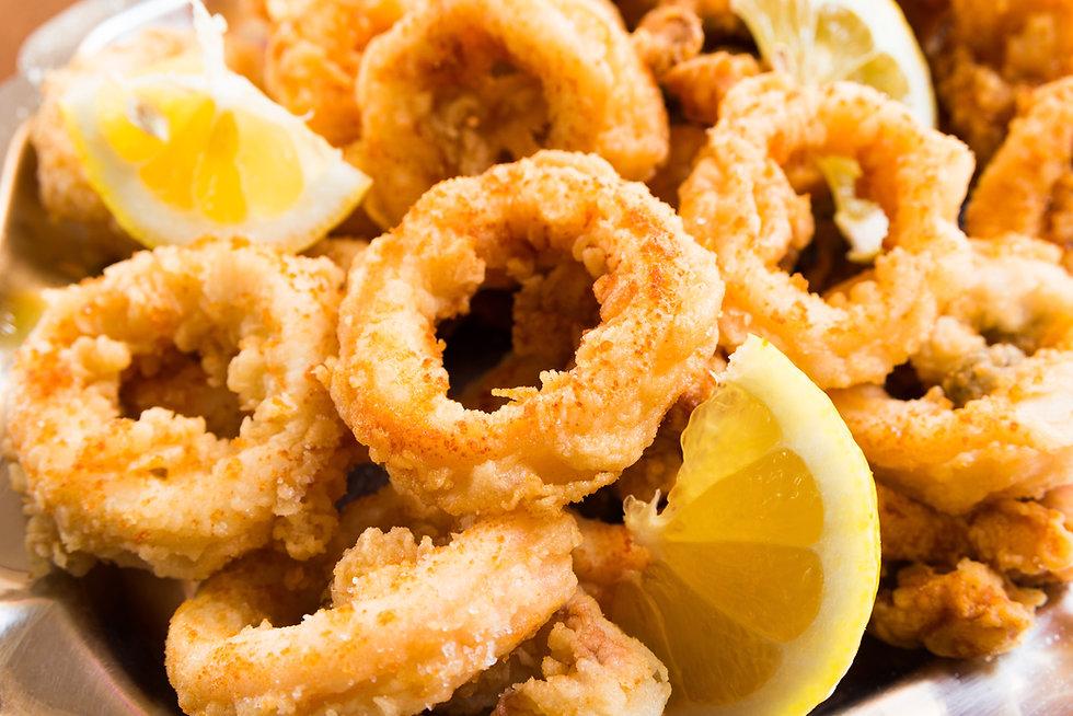 Frittura di calamari