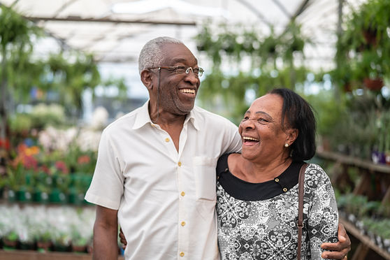 Happy Senior Couple Mindful Home Transitions Senior Moving