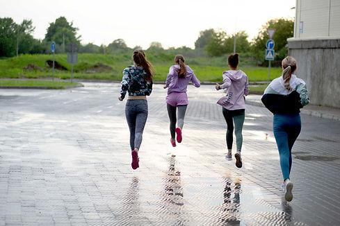 gruppo di fitness