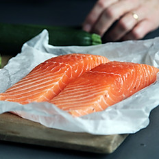 Smoked Salmon blini