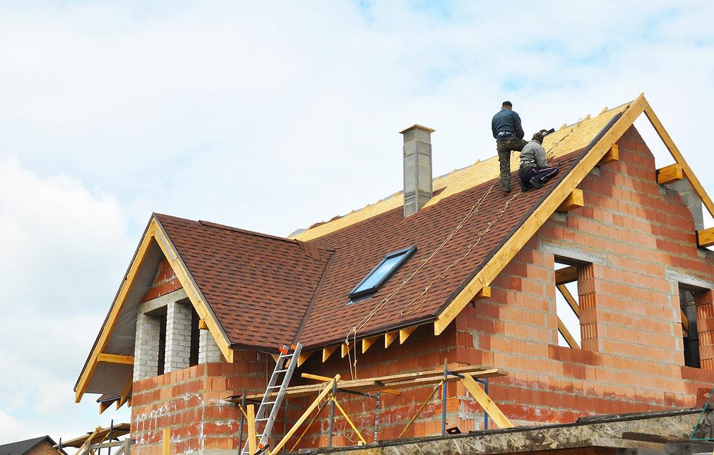 Roofing a House Using Asphalt Shingles In Atlanta Georgia