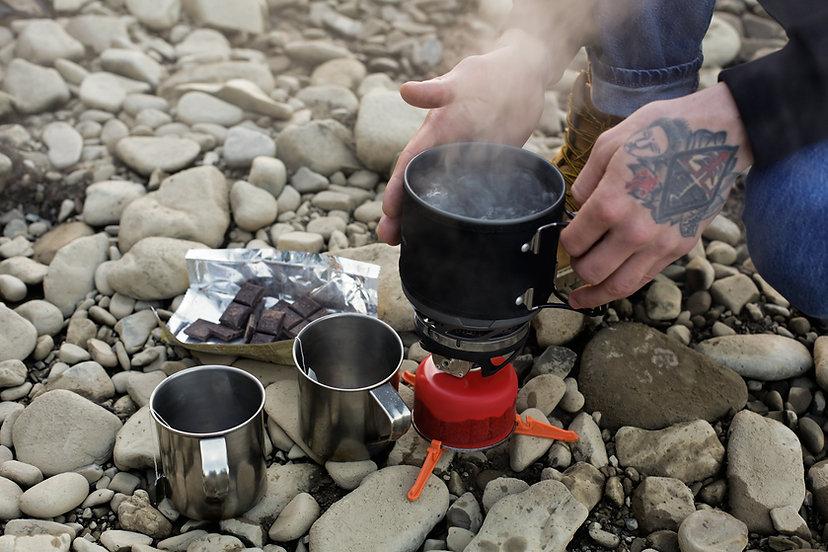 Making Tea in Nature