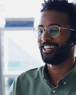 Smiling with a Headset