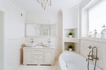 Frisches Badezimmerdesign