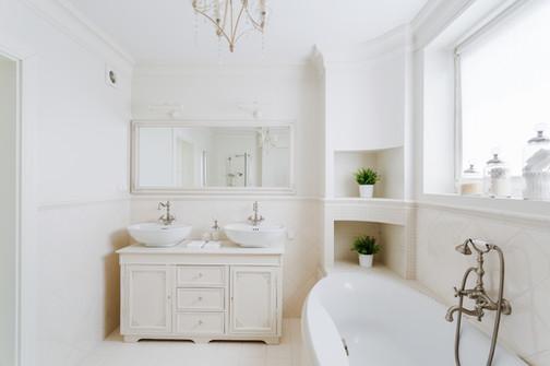 Design del bagno fresco