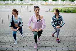 Outdoor Fitness Class