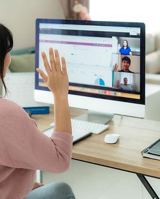 Remote Team Meeting