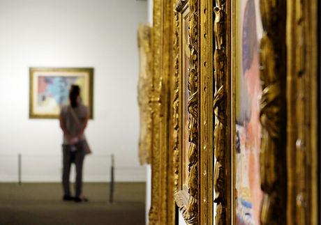 Pinturas enmarcadas