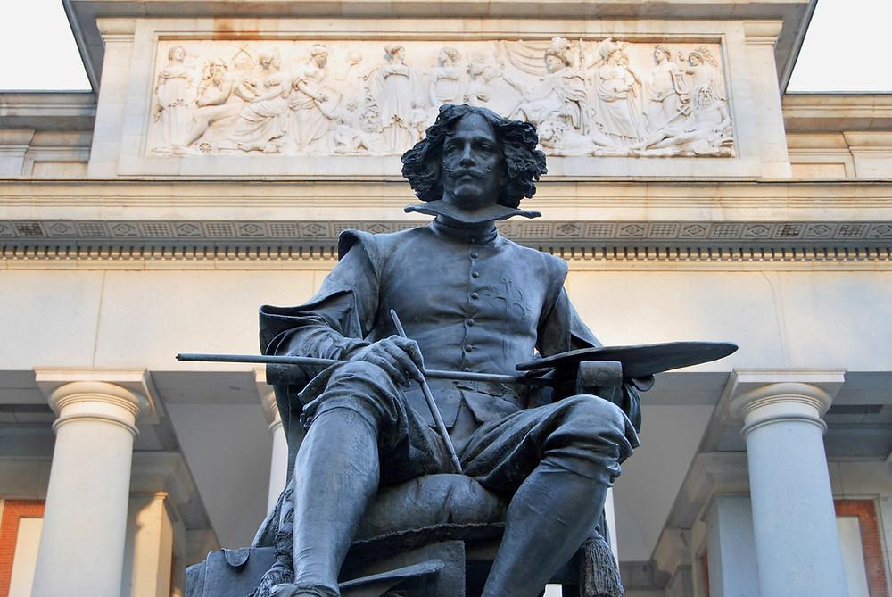 statue of Diego Velazquez
