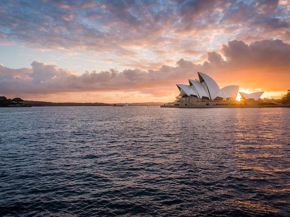 Sunrise over Sydney