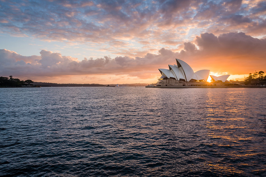 Sunrise over Sydney