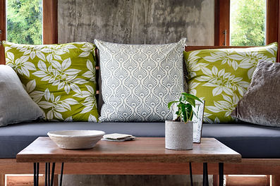 Patterned Pillows