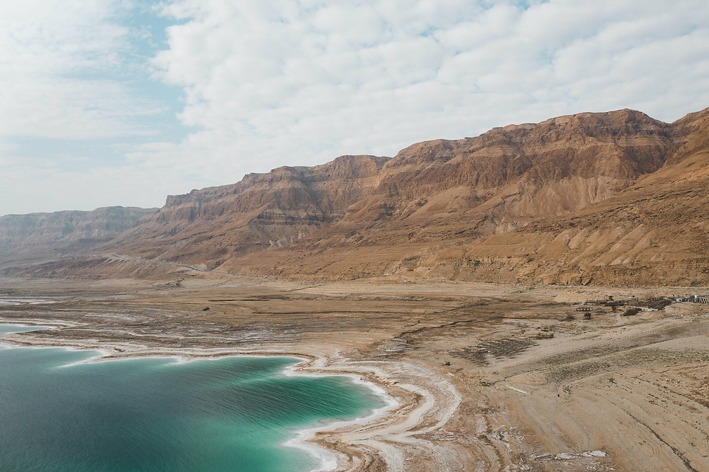 Israel's salty dead sea