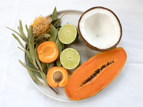 Coconut Lime Verbena 8oz- Mason Jar by Good Juju