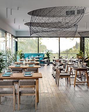 Café moderno e elegante