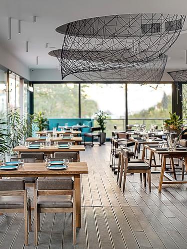Stylish Modern Cafe