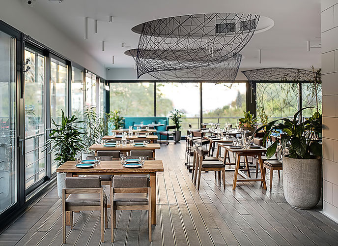 Stylish Modern Cafe