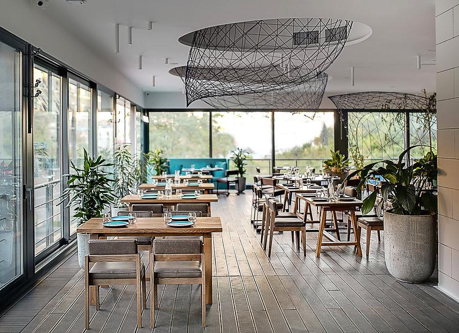 Elegante y moderno cafe