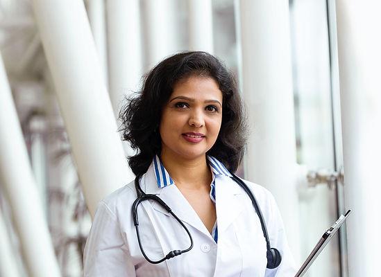 Confident Female Doctor