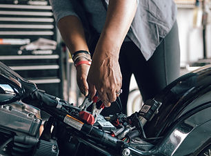 Mechanik Oprava motocyklu