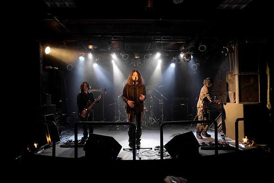 Actuación de la banda de música