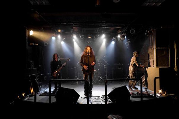Performance du groupe de musique