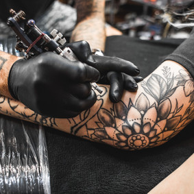 Tattoo Artiste au travail