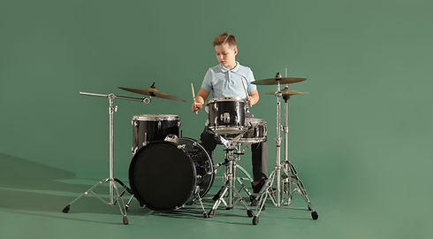 drum lessons at home