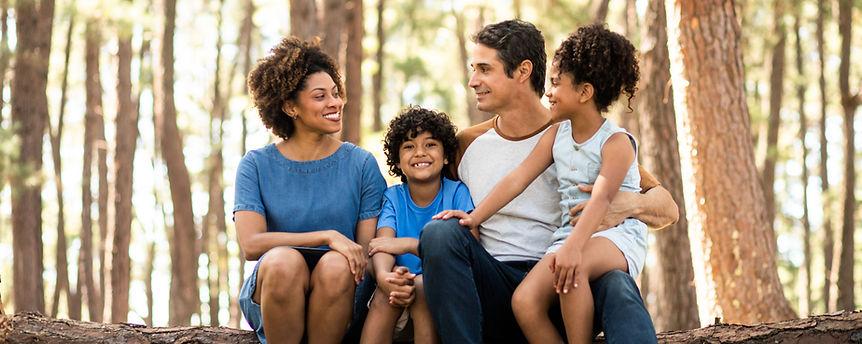 Família na Natureza