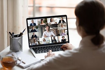 Virtual Team Meeting