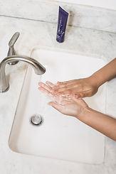 Hände waschen-Hygiene Corona