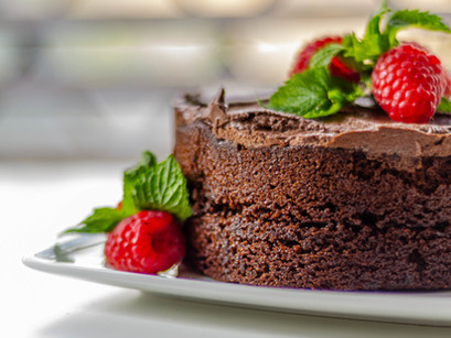 Chocolate cake without oven