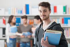 Portrait d'étudiant