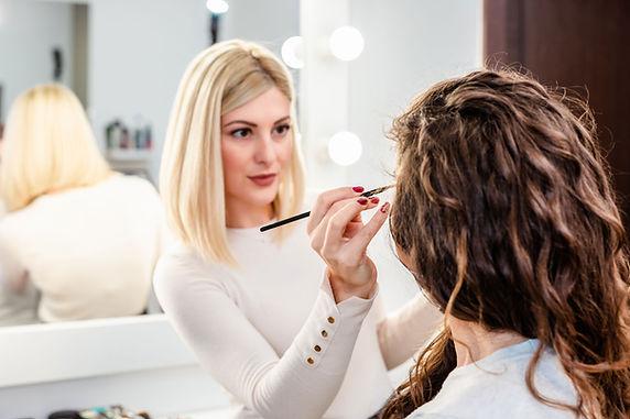 Makeup Artist at Work
