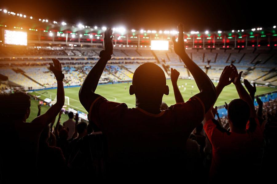 Les fans du stade