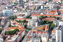 Aerial View of City