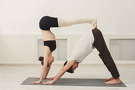 Acroyoga Handstand Downward Dog