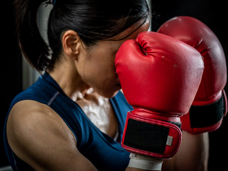 Improve your boxing workout with a positive mental attitude