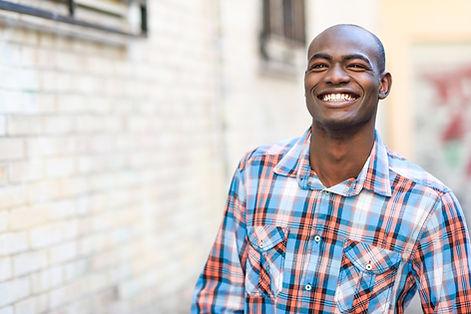 Bald Happy Man