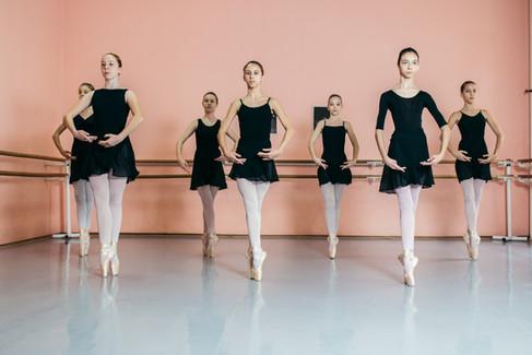 Aula de balé