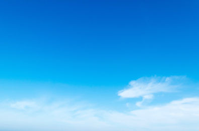 Blaue Himmel