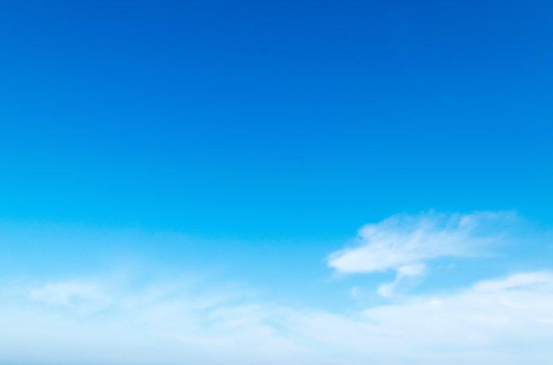 Ciels bleus