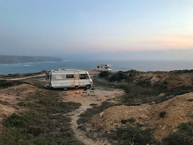 Campsite on Coast